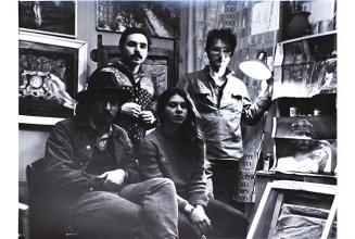 Feropontovo, 1983. With Alexander Florensky