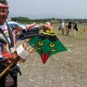 Japanese kites from Odako-matsuri