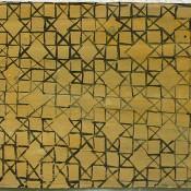 Letter from Infidel №9. 2007  acrylic on reinforced paper. 68 х 99