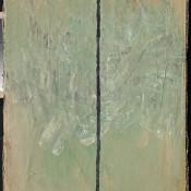 Line. 2005  acrylic on reinforced paper.  66 х 51
