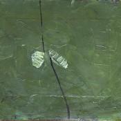 Divergence. 1997  oil on reinforced paper. 47 х 62